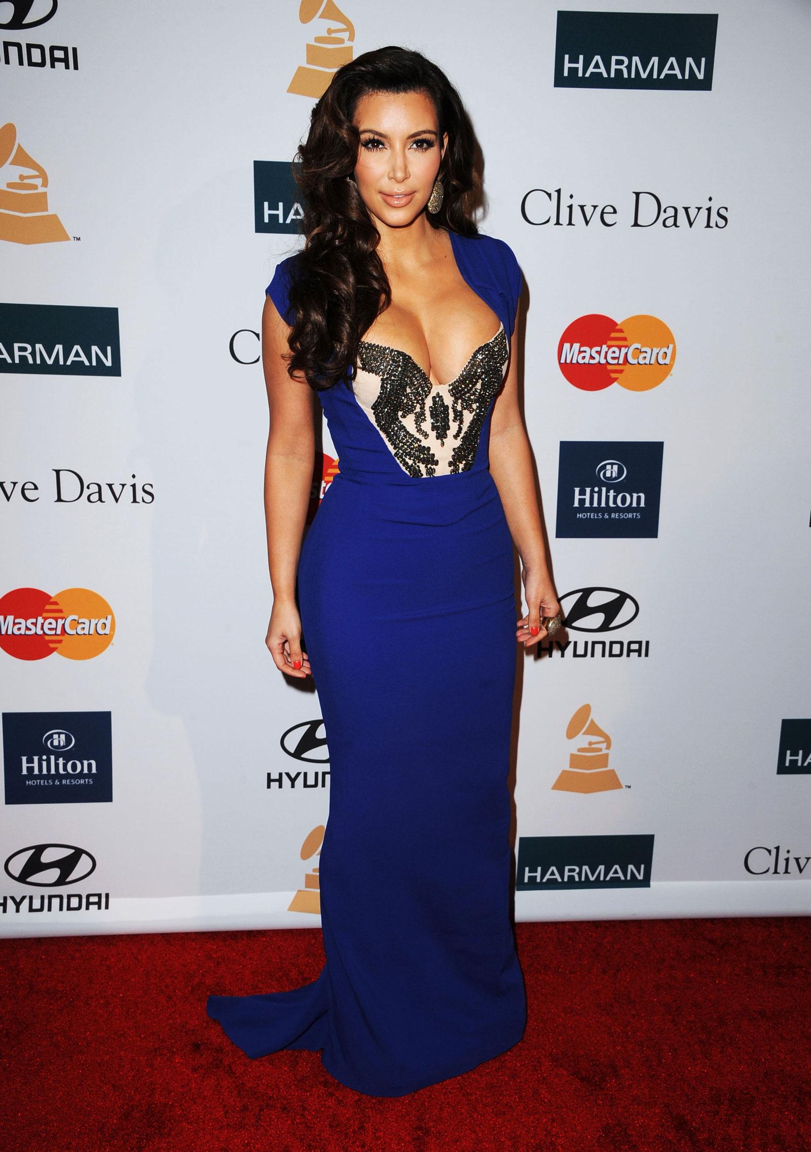 Beste Kim Kardashian Prom Kleider Zeitgenössisch - Brautkleider ...