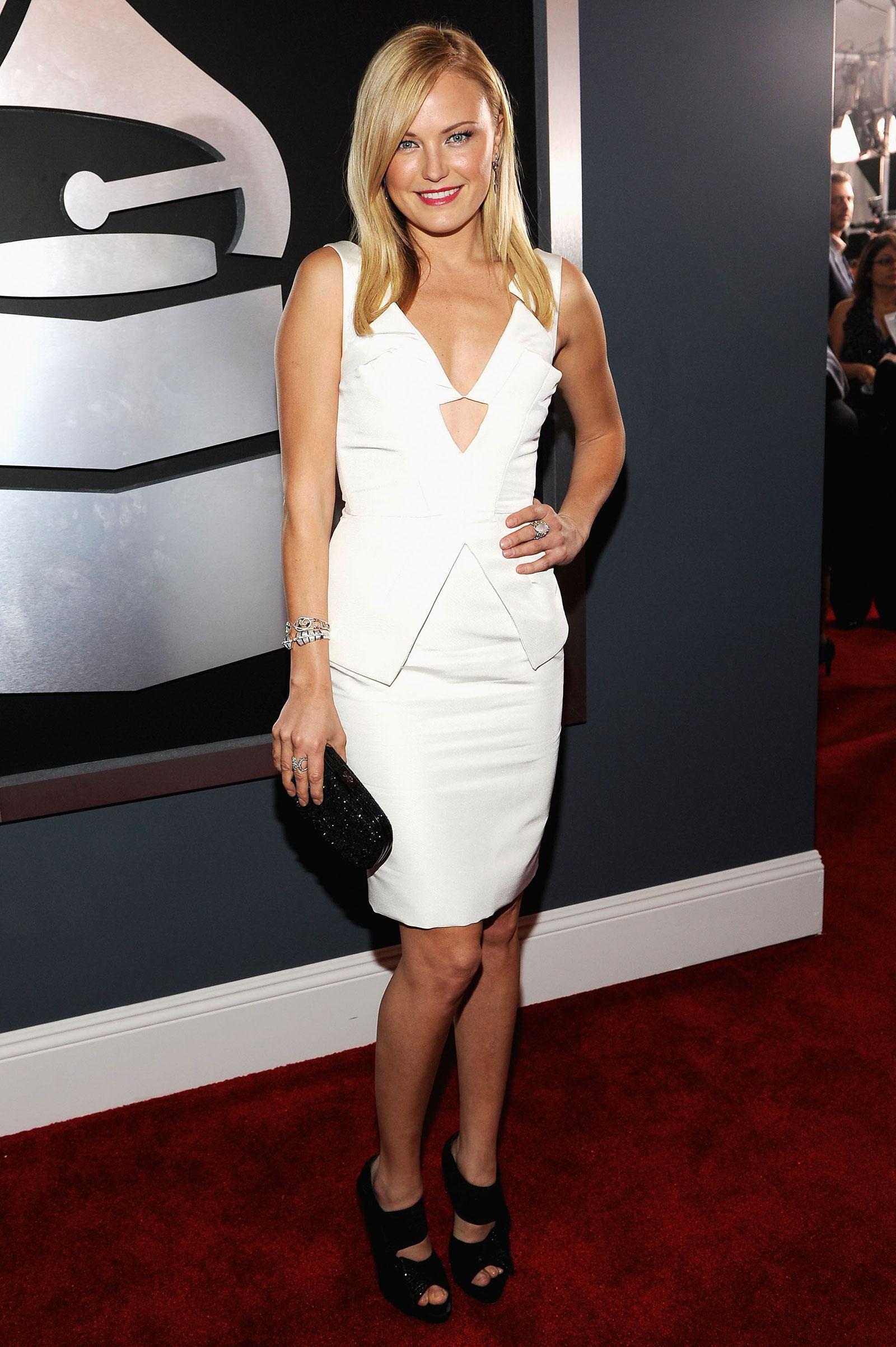 Malin Akerman at 54th Annual Grammy Awards