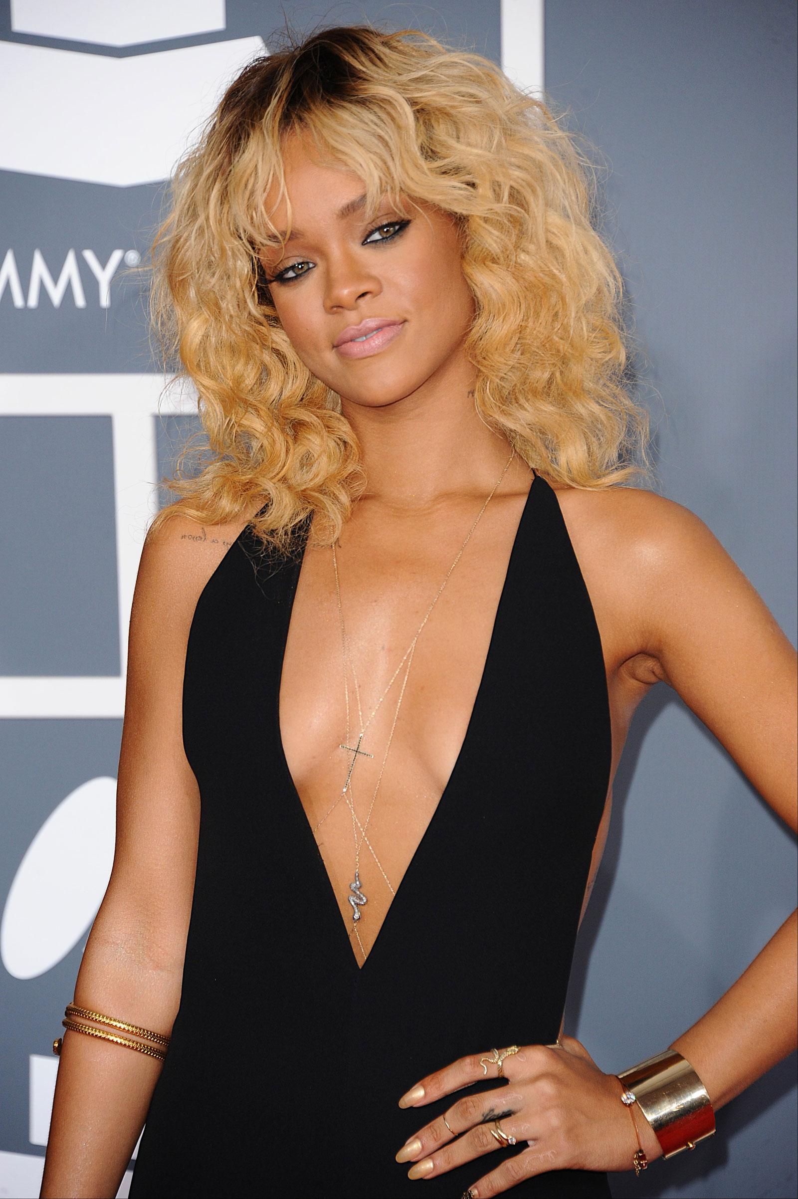 Rihanna at 54th Annual Grammy Awards