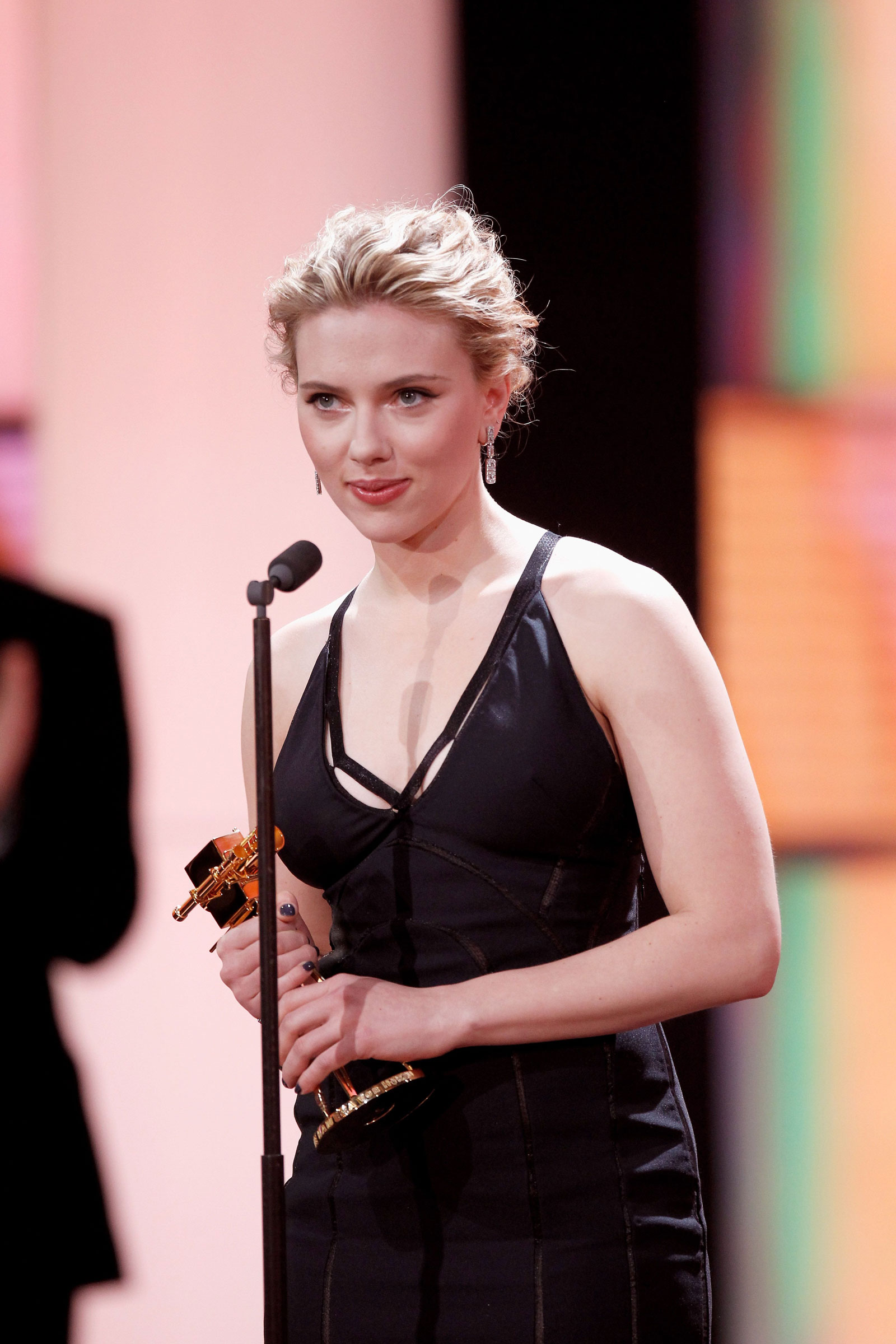 Scarlett Johansson At Goldene Kamera Awards In Berlin