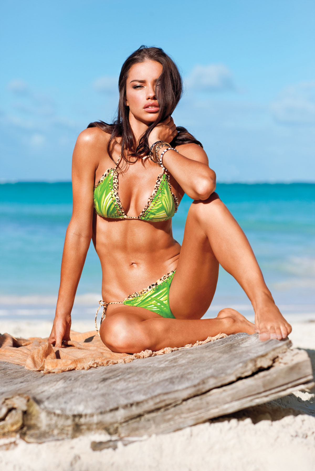 Adriana Lima In Victorias Secret Swimsuit 2012 Collection -6999