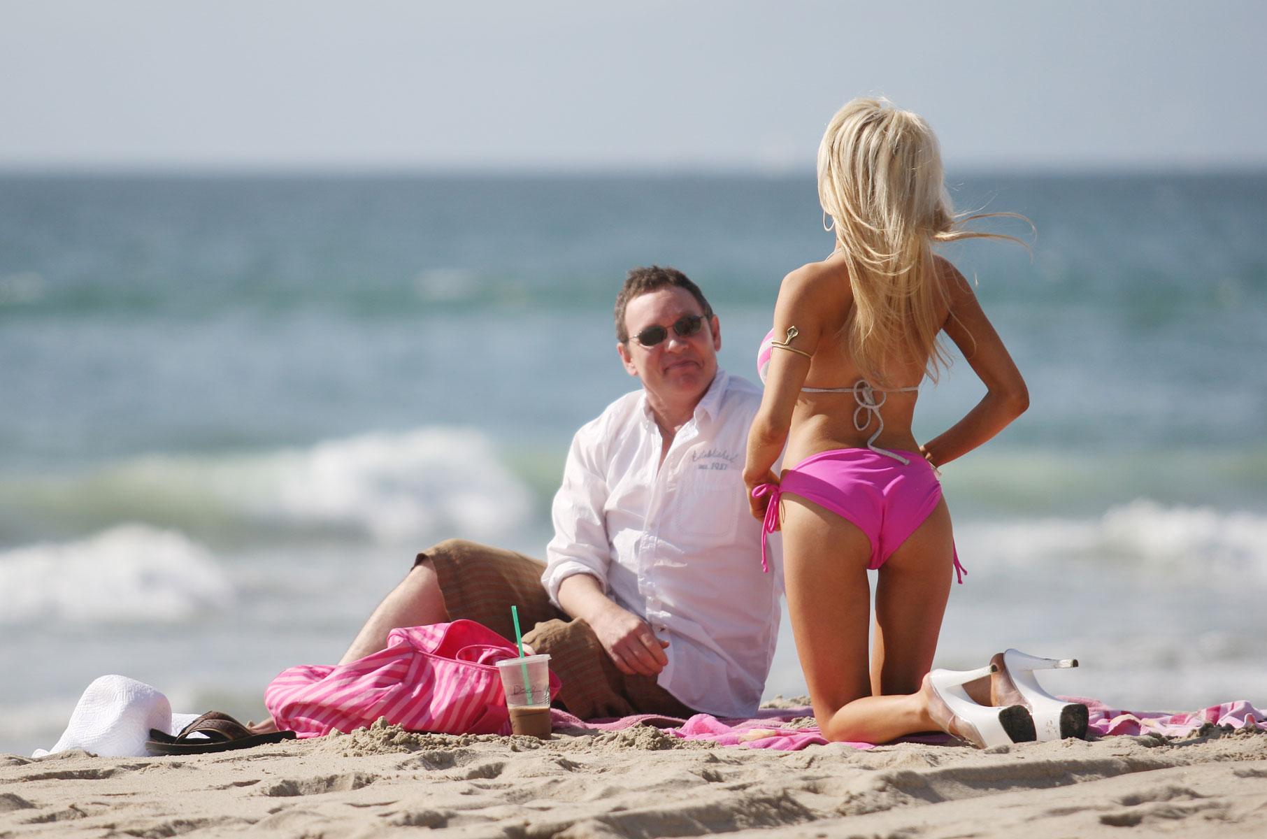 Courtney Stodden in Bikini on the beach in Malibu Pic 29 of 35