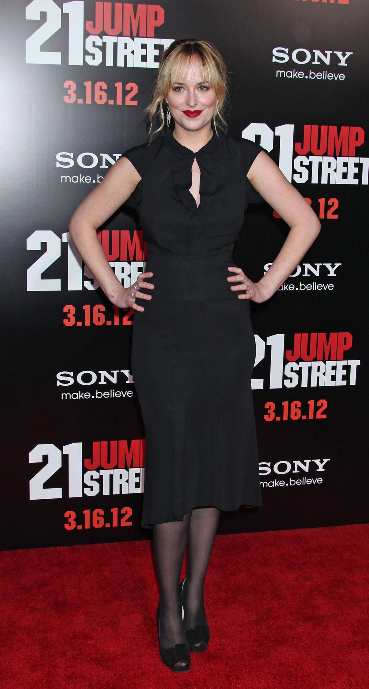 DAKOTA JOHNSON at 21 Jump Street Premiere in Los Angeles ... Jennifer Lopez On Facebook