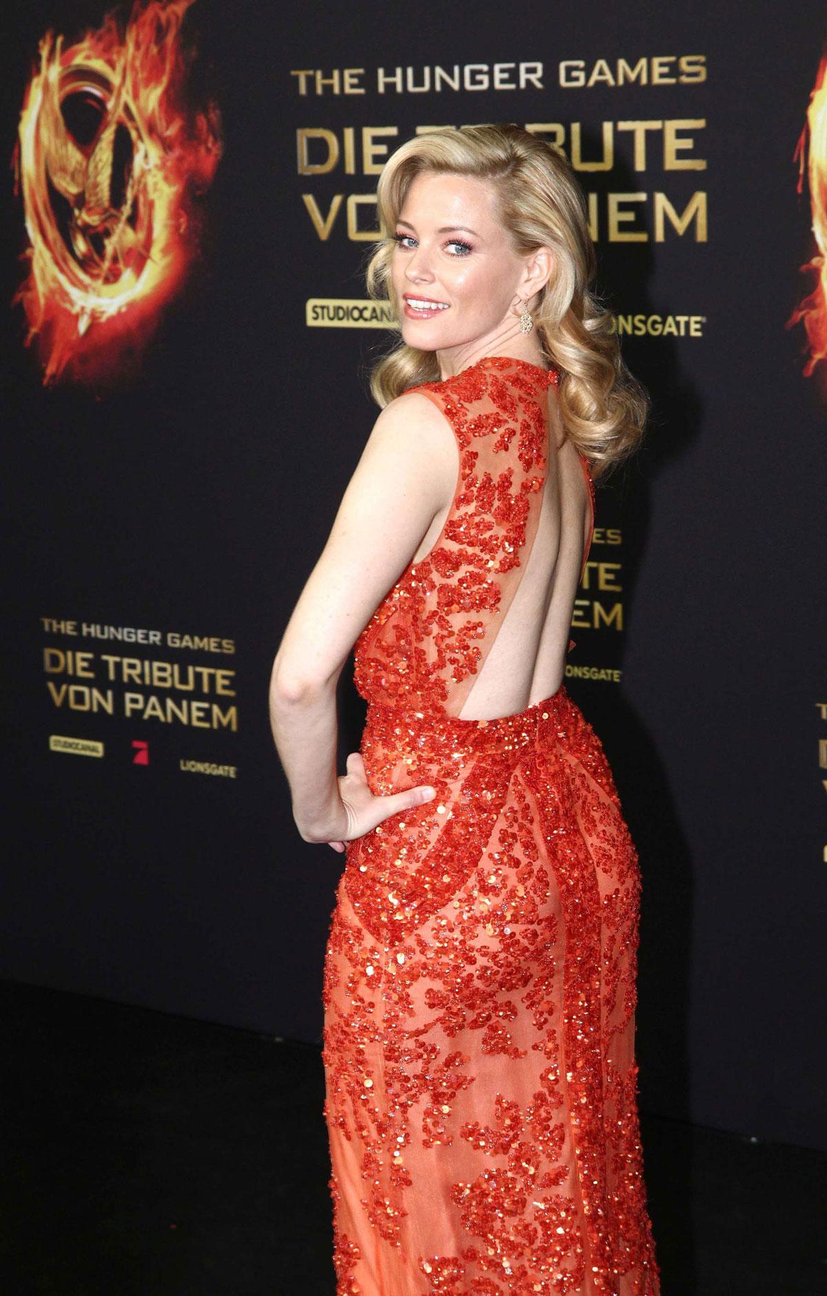 ELIZABETH BANKS at The Hunger Games Premiere in Berlin ...  ELIZABETH BANKS...