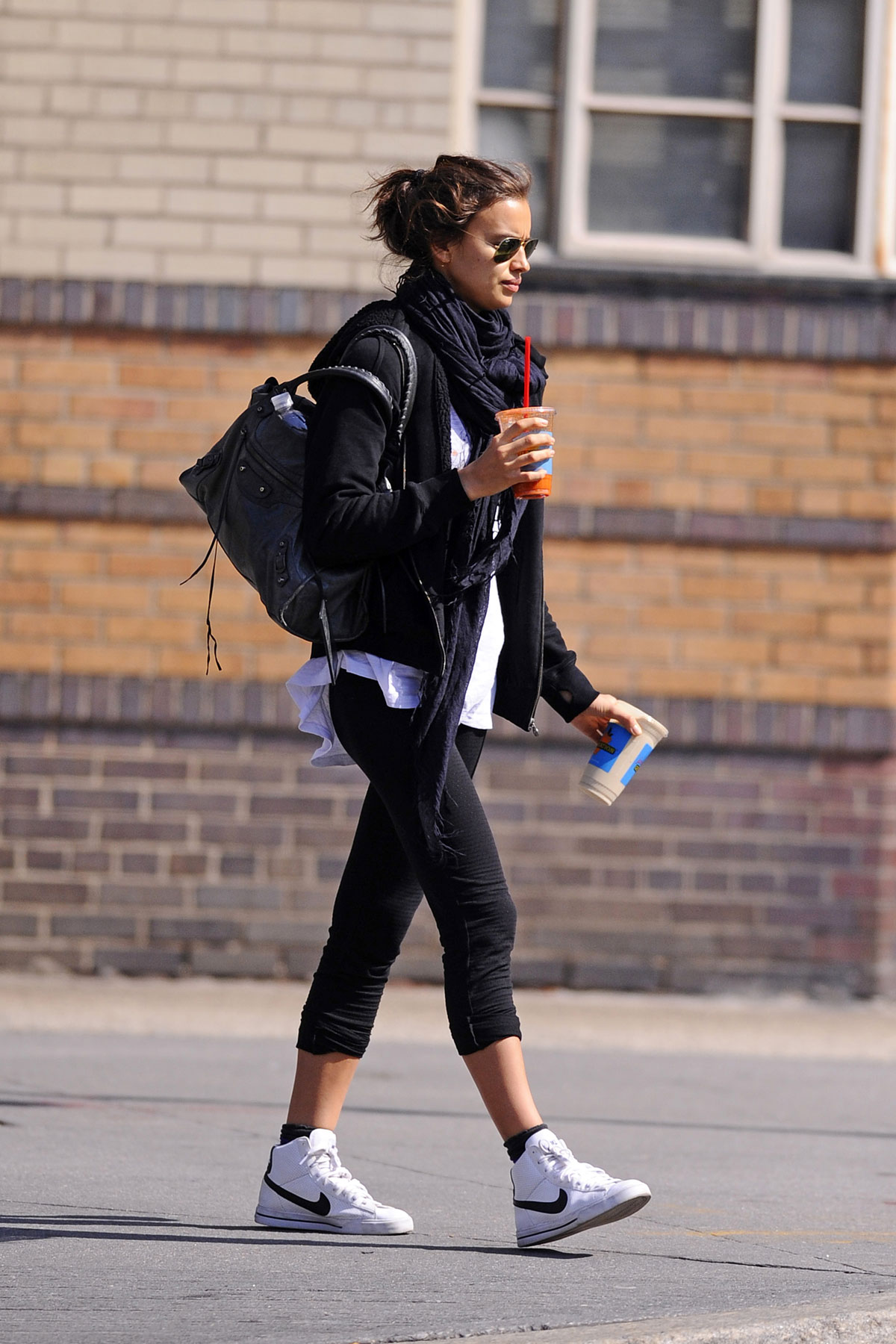 Irina Shayk Out And About On The West Village In New York Hawtcelebs