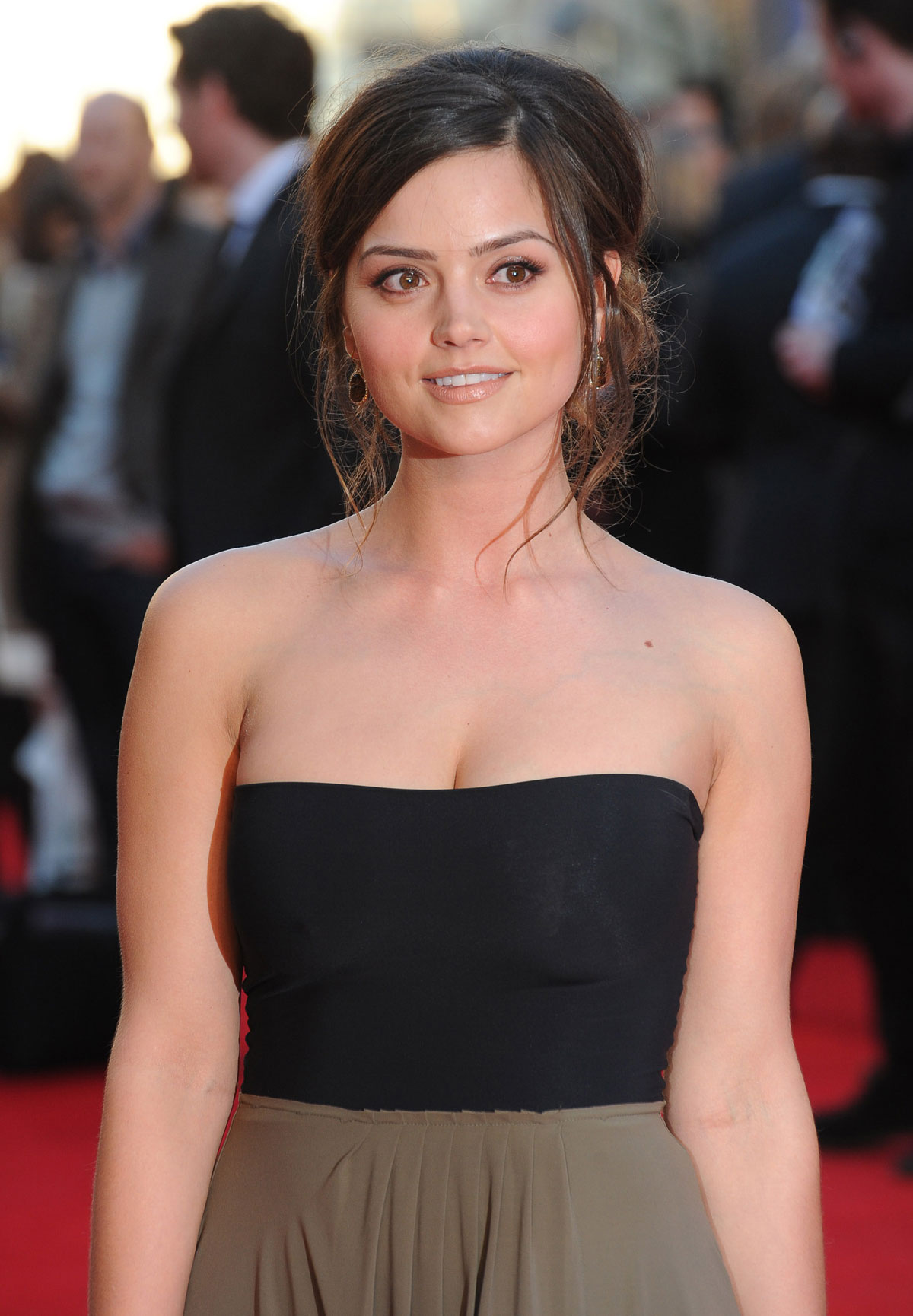 JENNA LOUISE COLEMAN at Titanic 3D Premiere in London