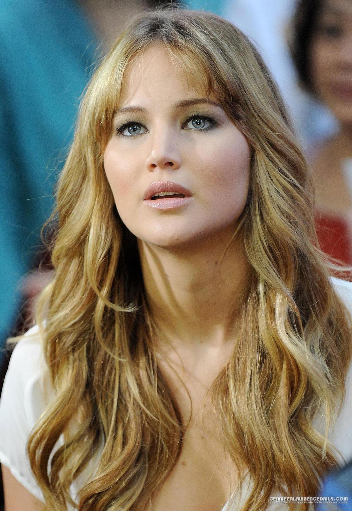 Jennifer Lawrence At Good Morning America In New York