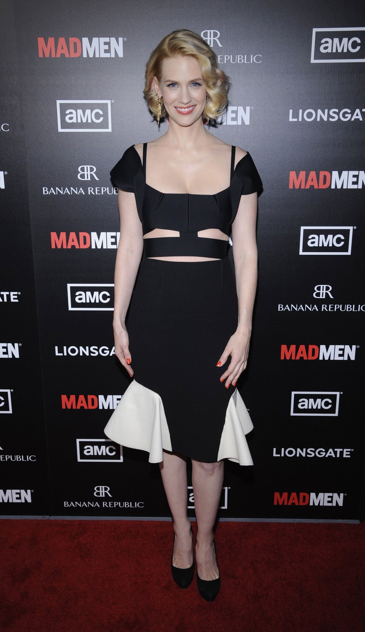 January Jones At Mad Men Season 5 Premiere In Los Angeles