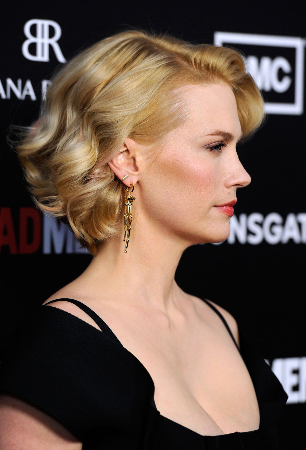January Jones At Mad Men Season 5 Premiere In Los Angeles