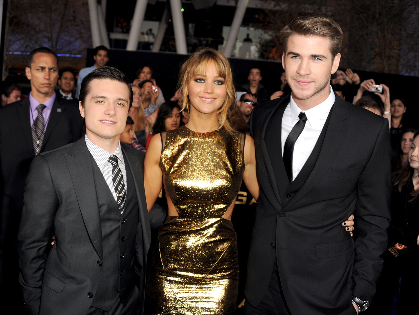 42f2c106f Jennifer Lawrence at The Hunger Games Premiere in Los Angeles ...