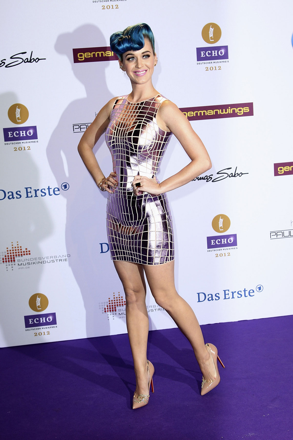 KATY PERRY at Echo Music Awards in Berlin HawtCelebs