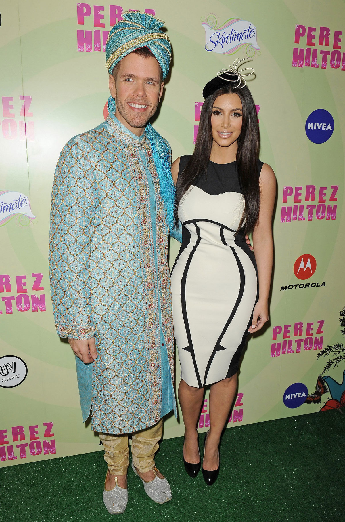KIM KARDASHIAN at Perez Hilton\'s Mad Hatter Tea Party Birthday Bash ...