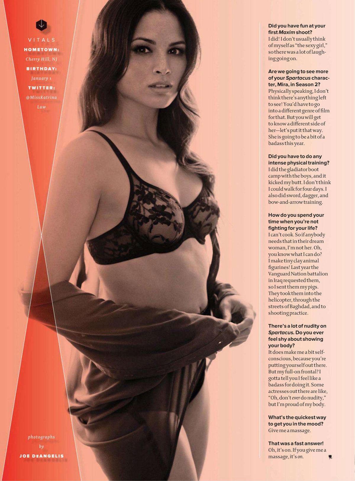 ... Law in Maxim Magazine, April 2012 Issue - HawtCelebs - HawtCelebs