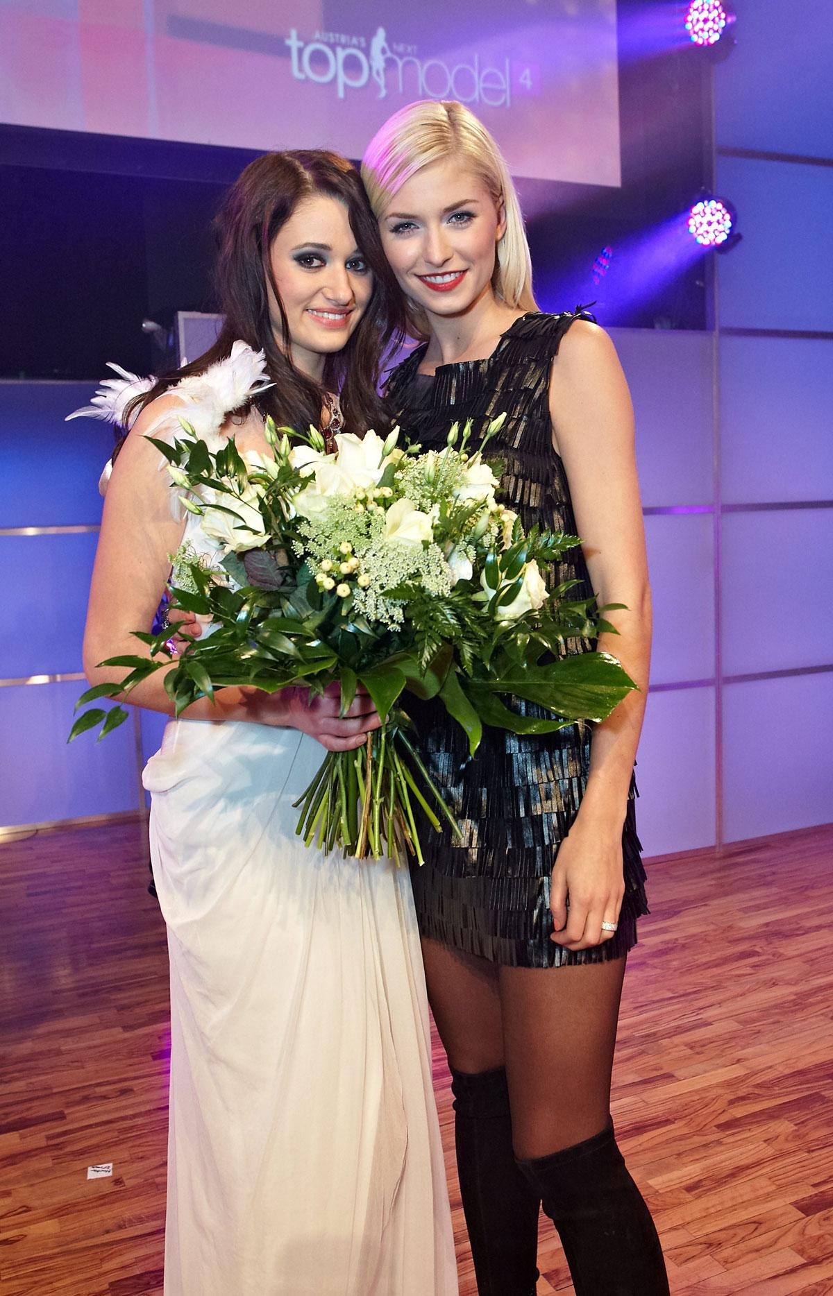 Lena Gercke At Austria S Next Topmodel Hawtcelebs