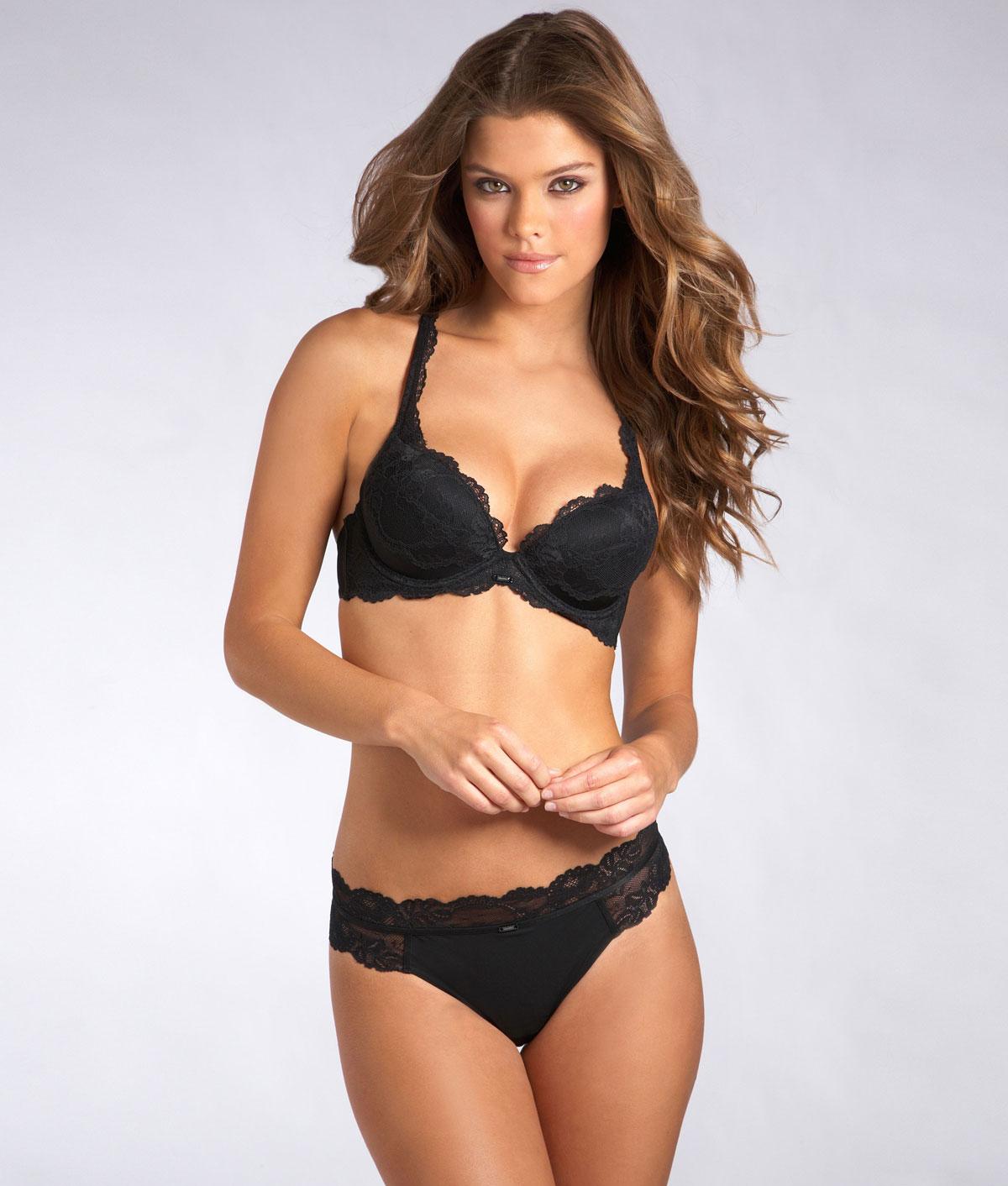 Apologise, but, Nina agdal lingerie