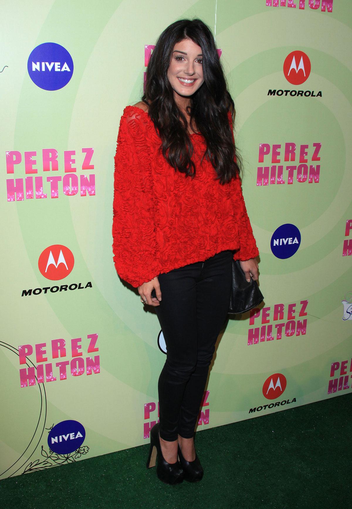 SHENAE GRIMES at Perez Hilton's Mad Hatter Tea Party ...