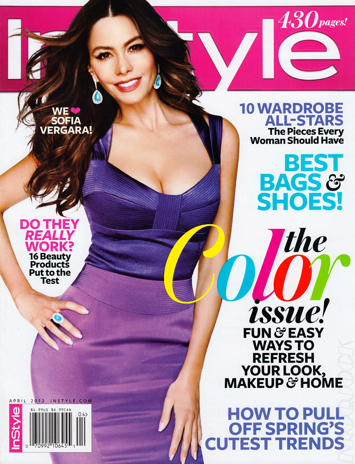 Instyle Magazine Us: Fashion Of This Week: Sofia Vergara Hot In Bra-InStyle