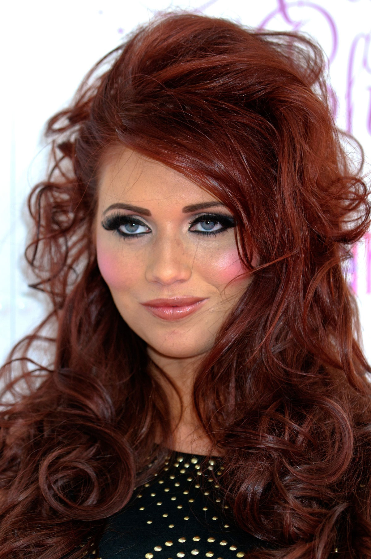 Amy Childs At Essex Fashion Week In Greater London