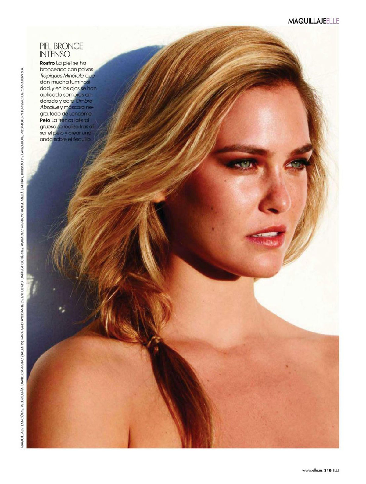 Bar Refaeli: Elle Spain 2015 -01 | GotCeleb