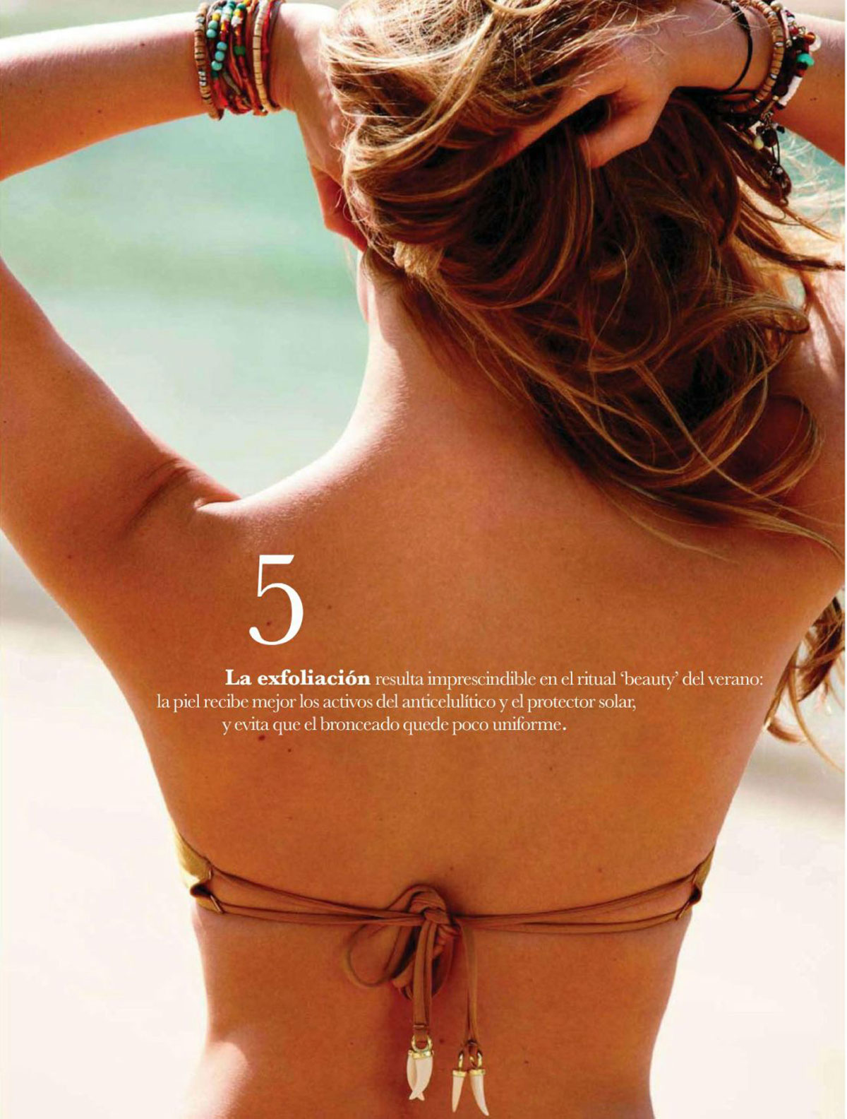 Bar Refaeli - Elle Magazine (Spain) March 2015 Issue