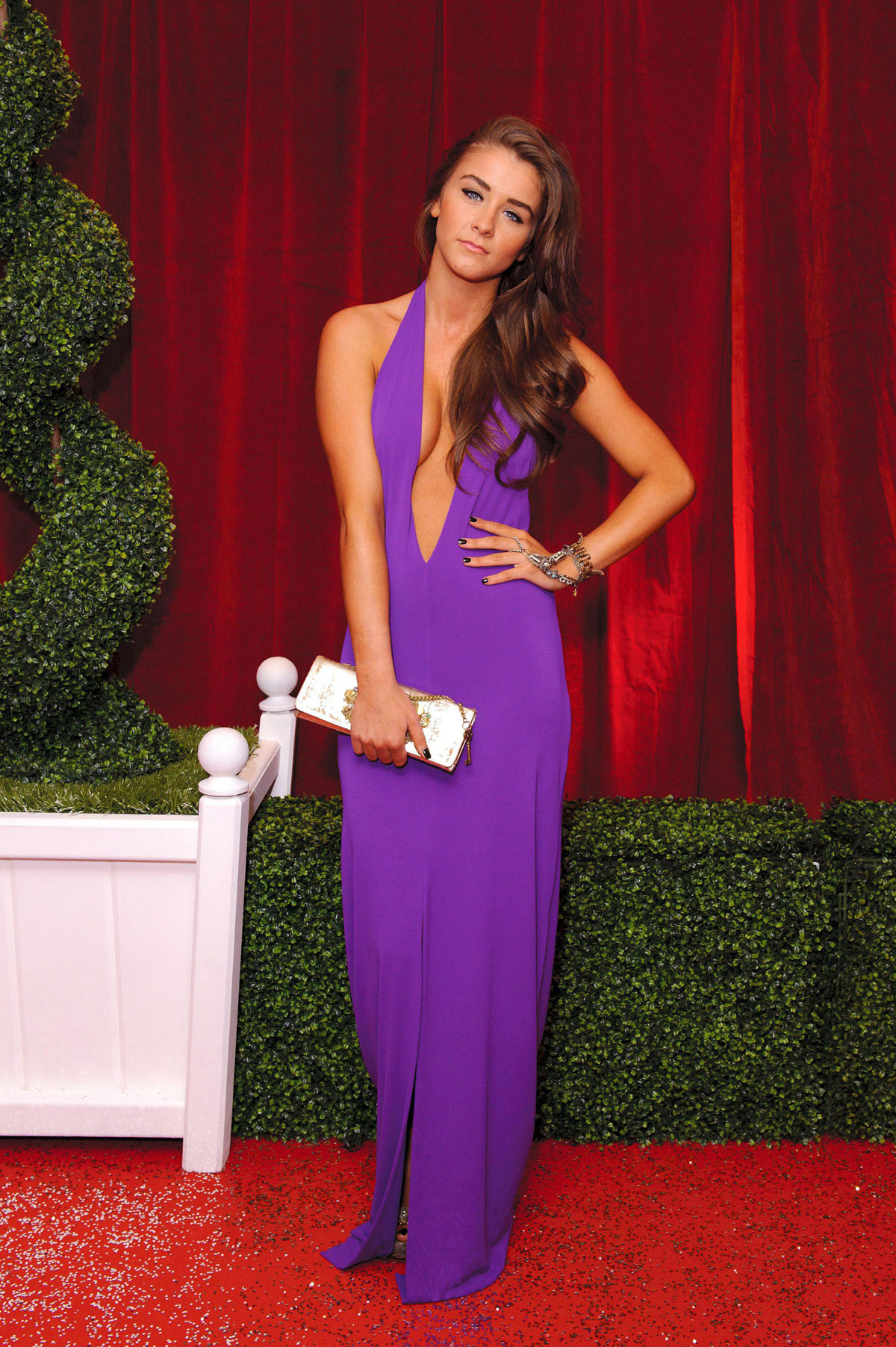 Brooke Vincent At The British Soap Awards 2012 In London