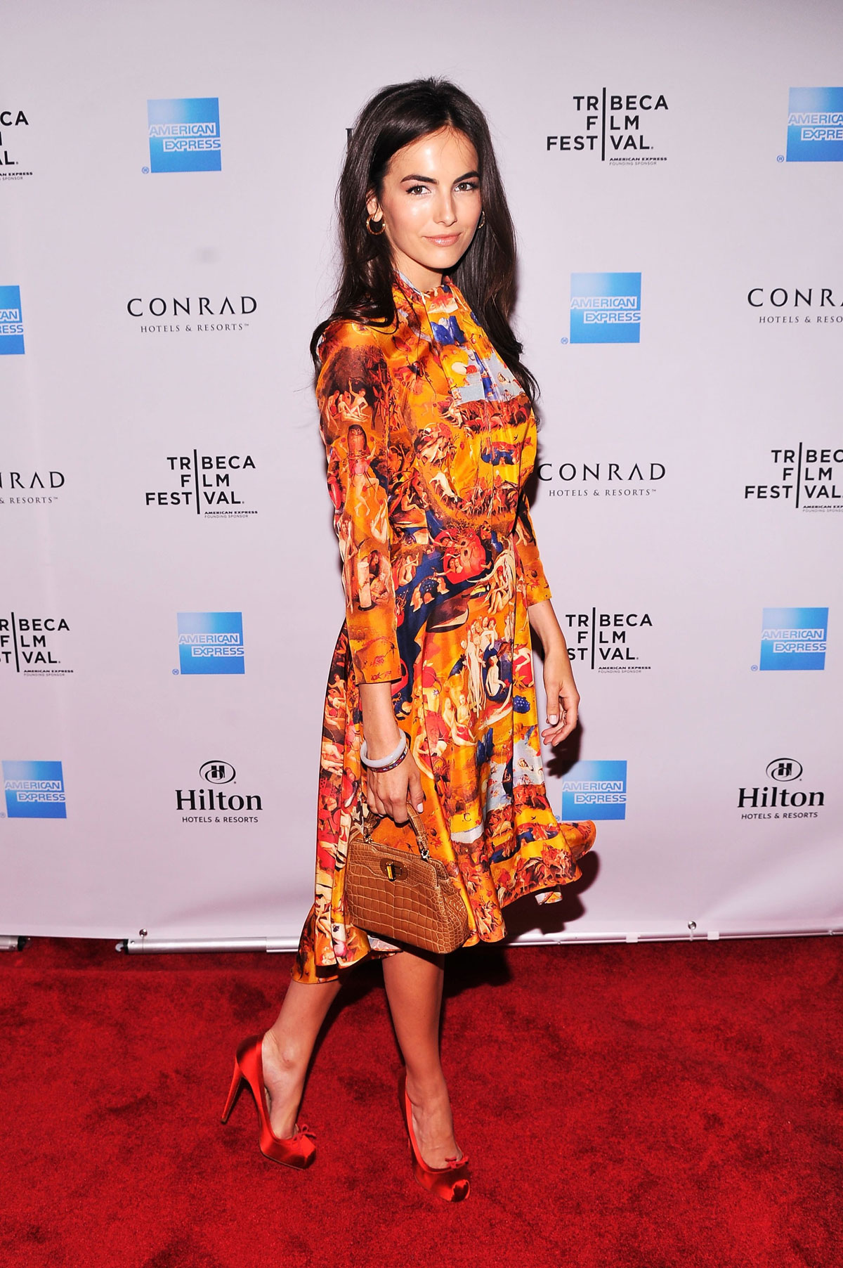 Camilla Belle At The 7th Annual Chanel Tribeca Film