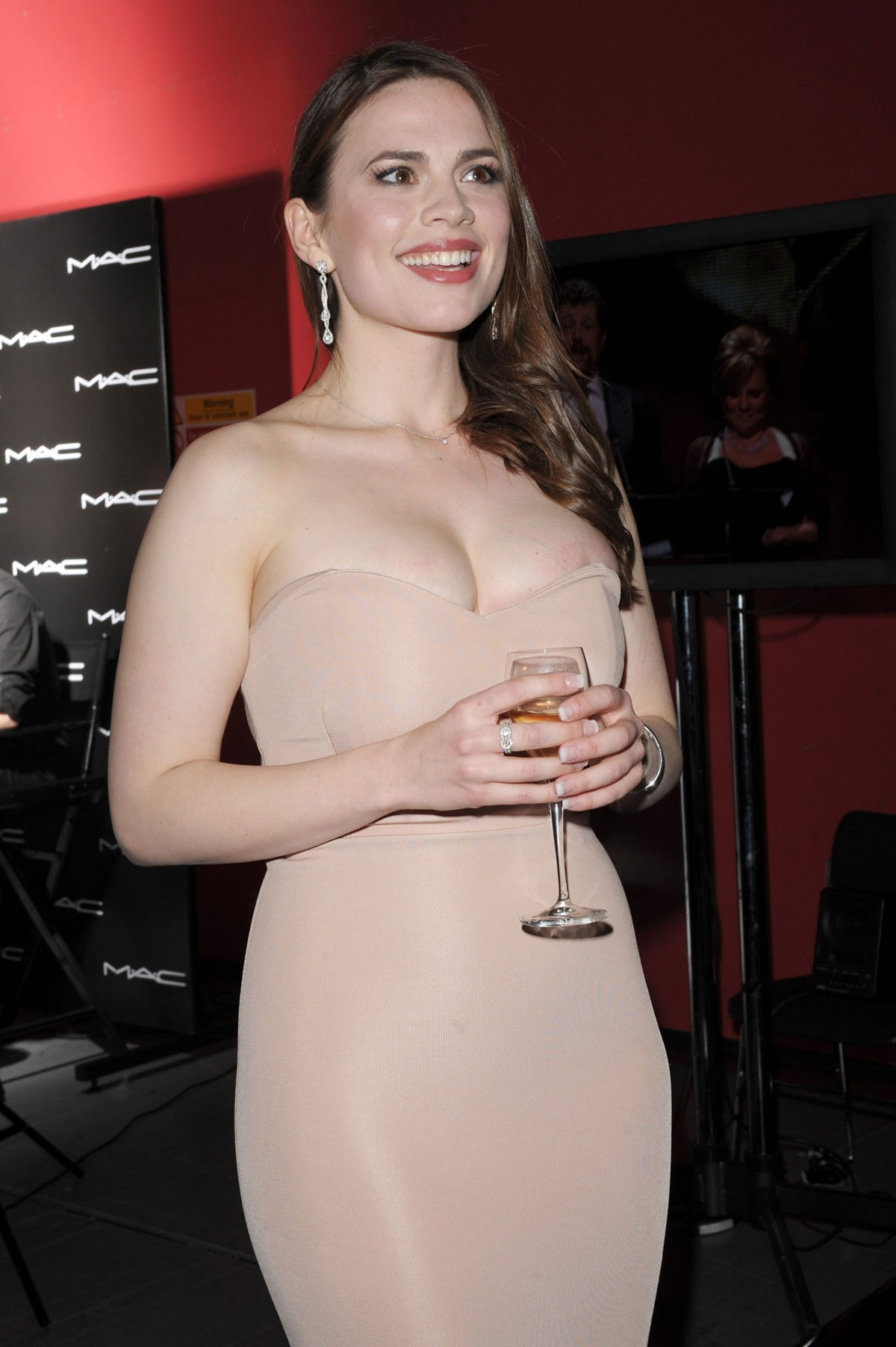 HAYLEY ATWELL at 2012 Olivier Awards in London - HawtCelebs