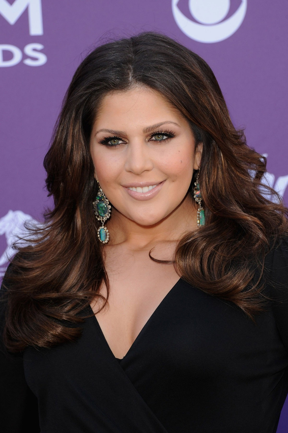 HILLARY SCOTT at 47th Annual Academy of Country Music Awards in Las