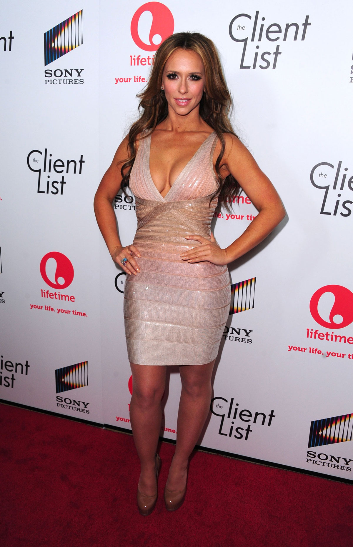 Haruno Sexy Jennifer Love Hewitt At Launch Party For The