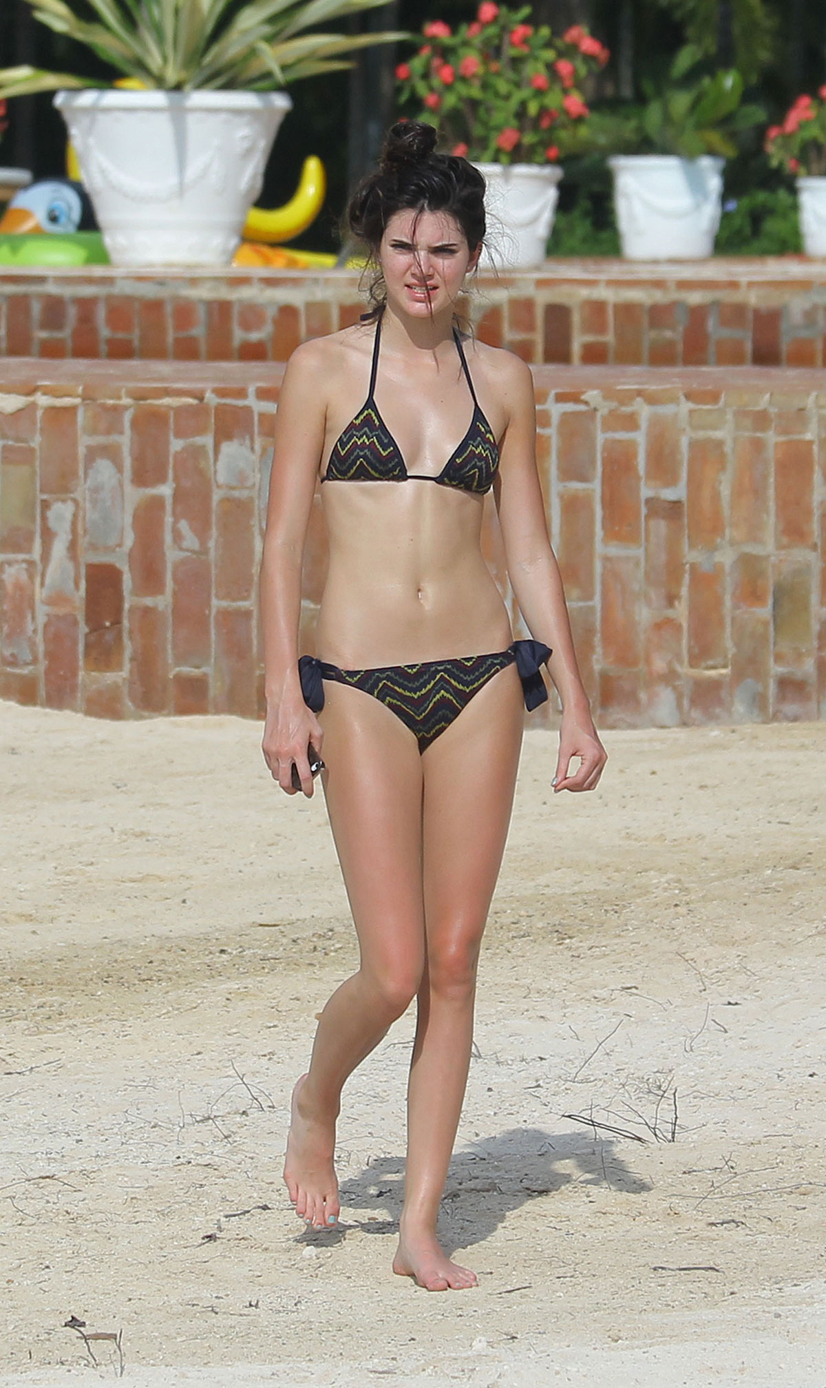 d9d1c9f7c9 KENDALL JENNER in Bikini on Vacation in the Dominican Republic ...
