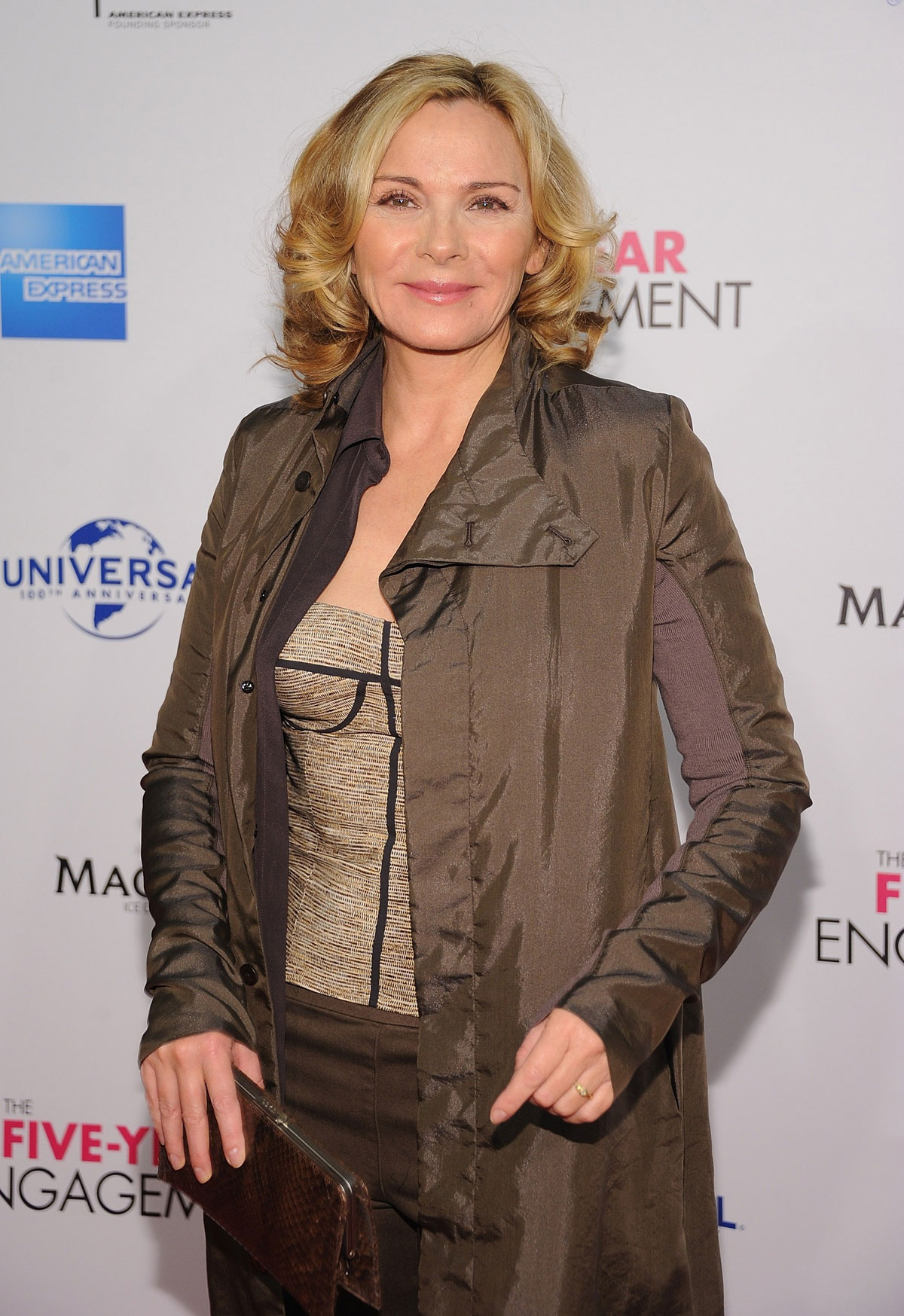 KIM CATTRALL at The Five Year Engagement Premiere in New York ... Kim Cattrall