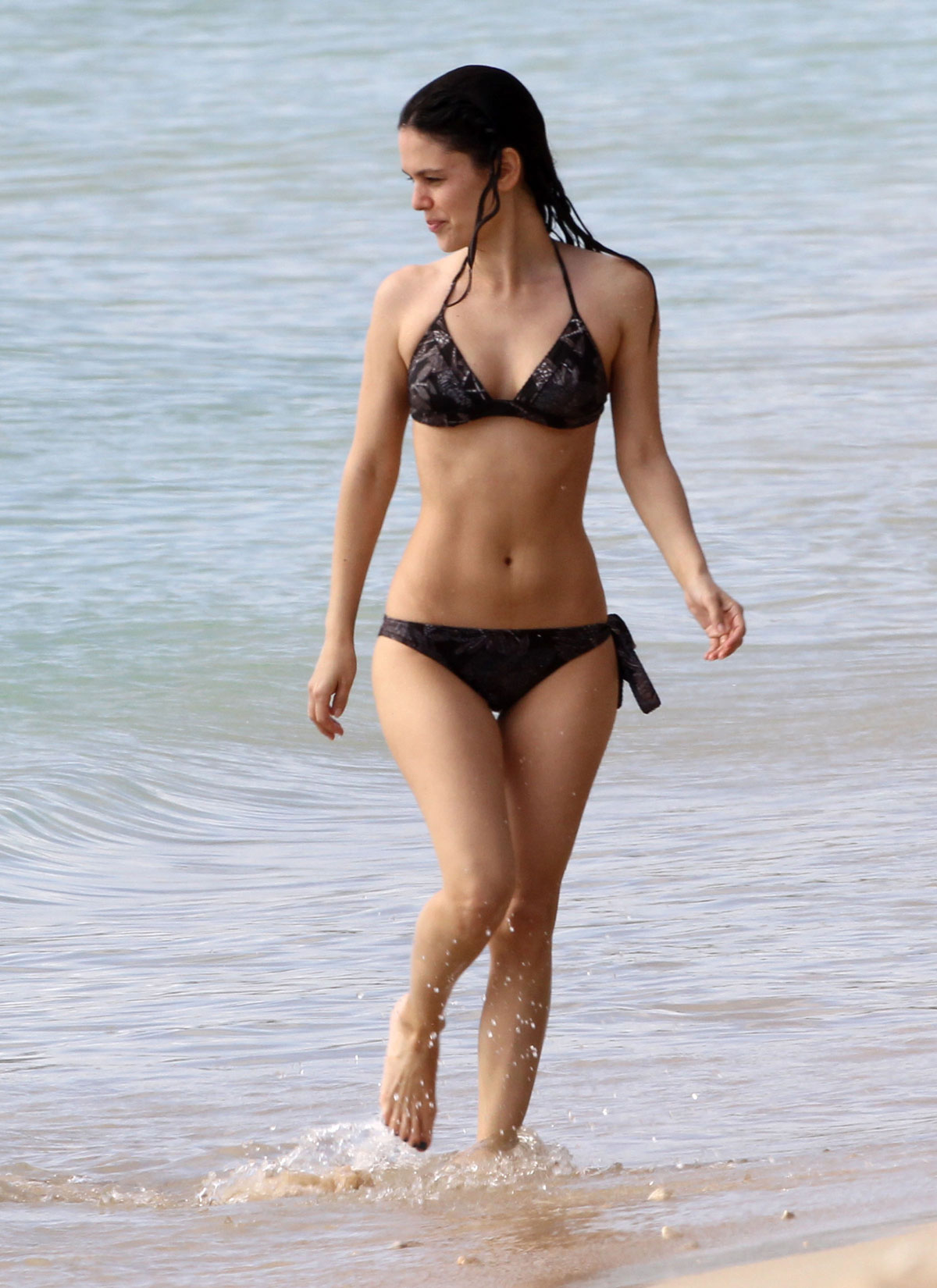 RACHEL BILSON in Bikini at the Beach in Barbados - HawtCelebs