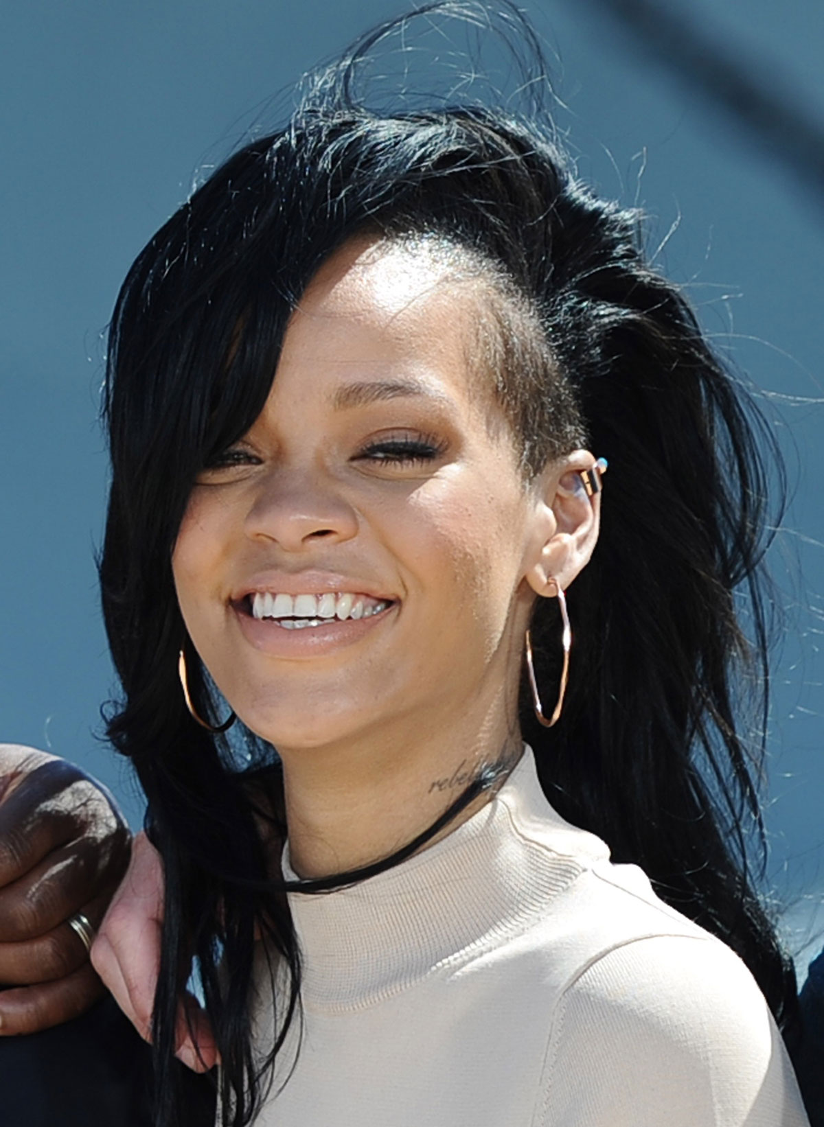 rihanna at battleship photocall at the battleship missouri