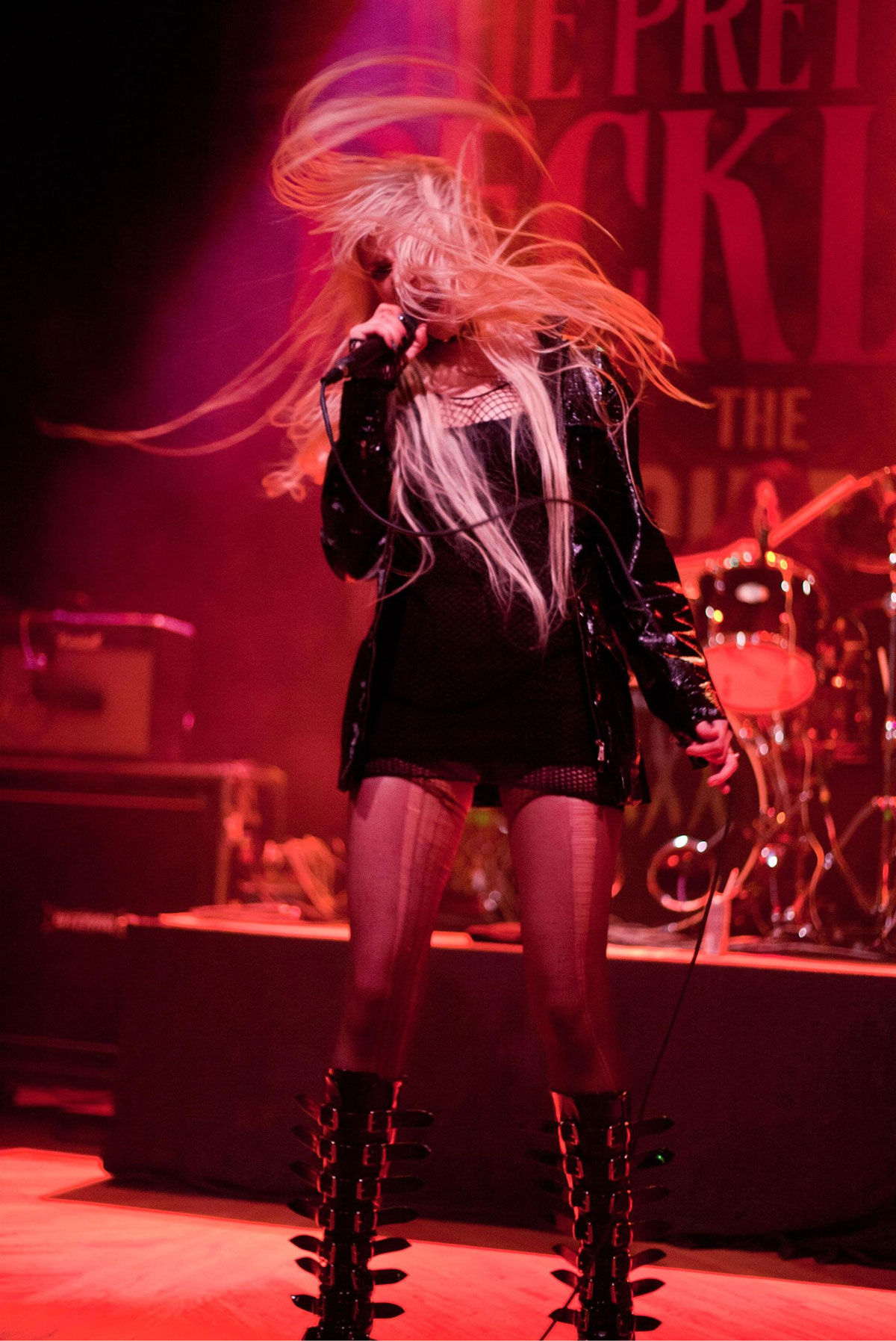 Haruno Sexy Taylor Momsen Live Performance At Crofoot