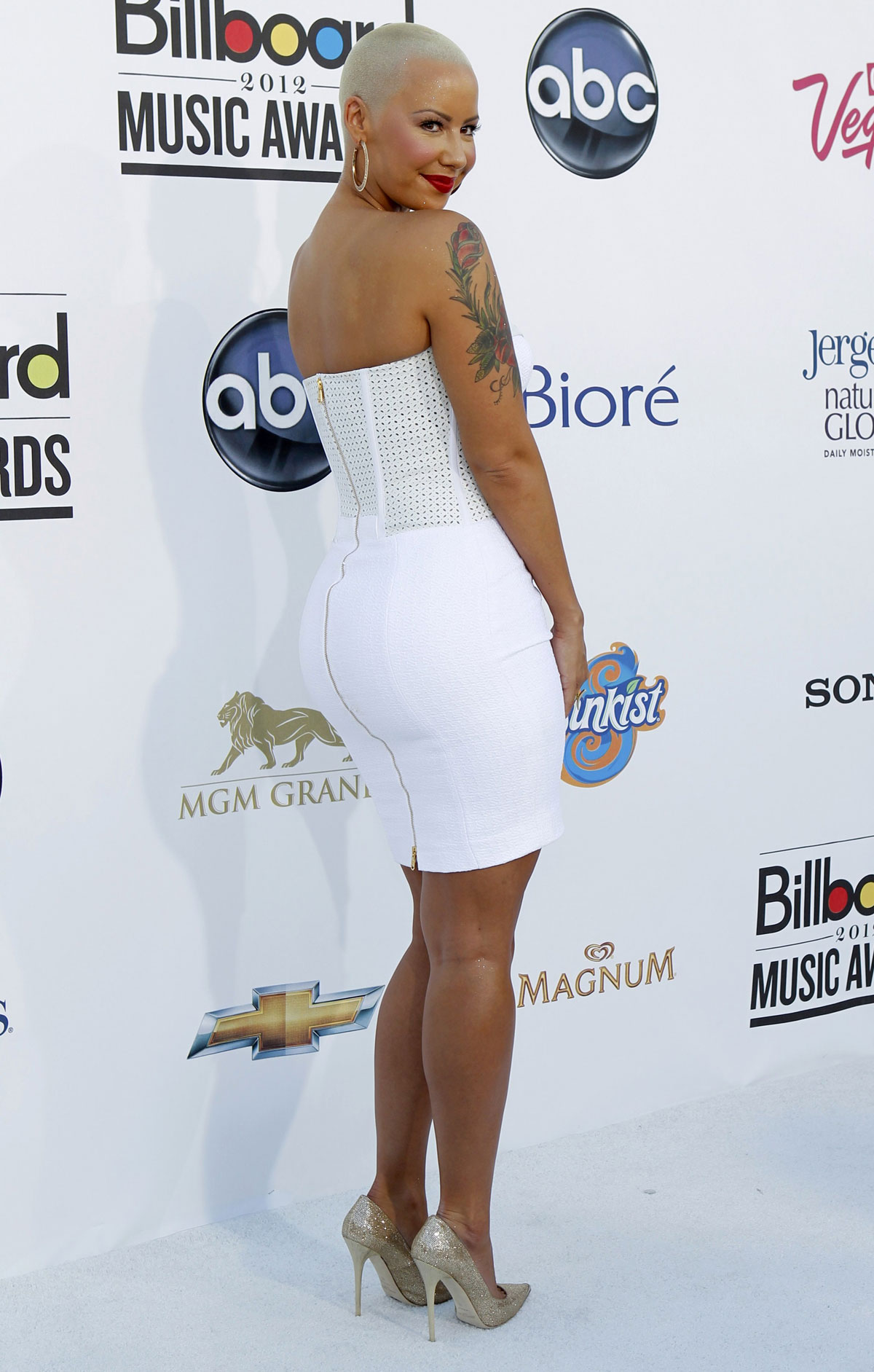AMBER ROSE at Billboard Music Awards – HawtCelebs