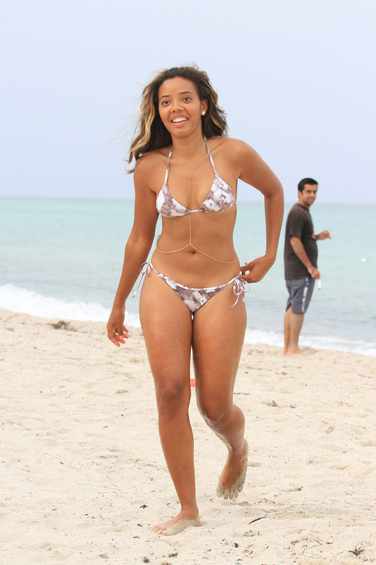 ANGELA SIMMONS in Biki... Freida Pinto