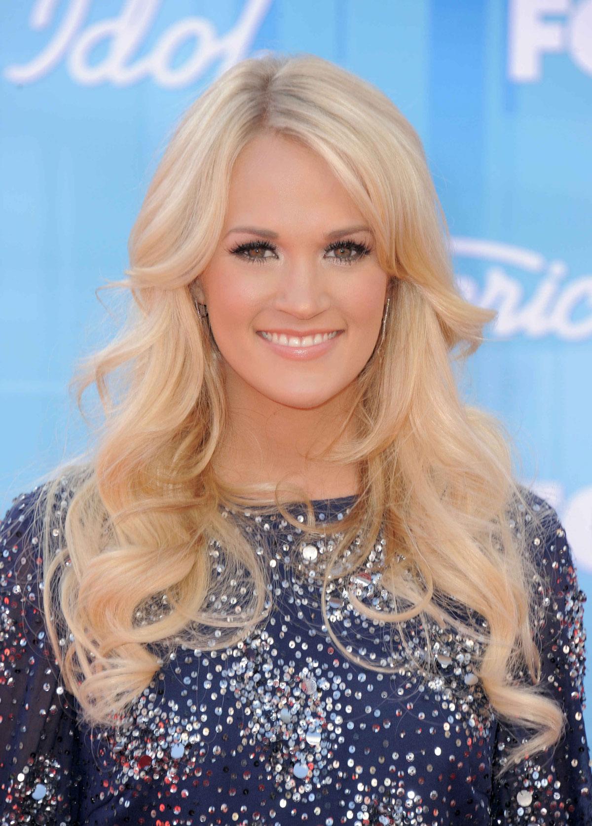 Carrie Underwood At American Idol Season 11 Grand Finale Show Hawtcelebs