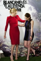 CHARLIZE THERON and Kristen Stewart
