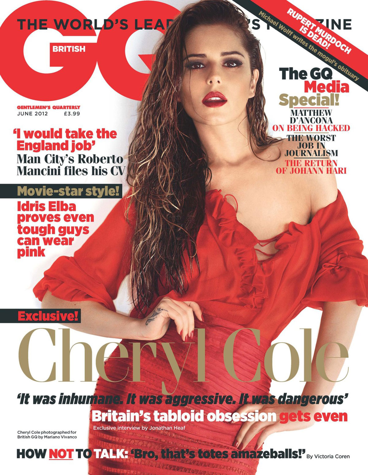 Gq Magazine The Secrets Of R Kelly: CHERYL COLE In GQ Magazine, UK May 2012 Issue
