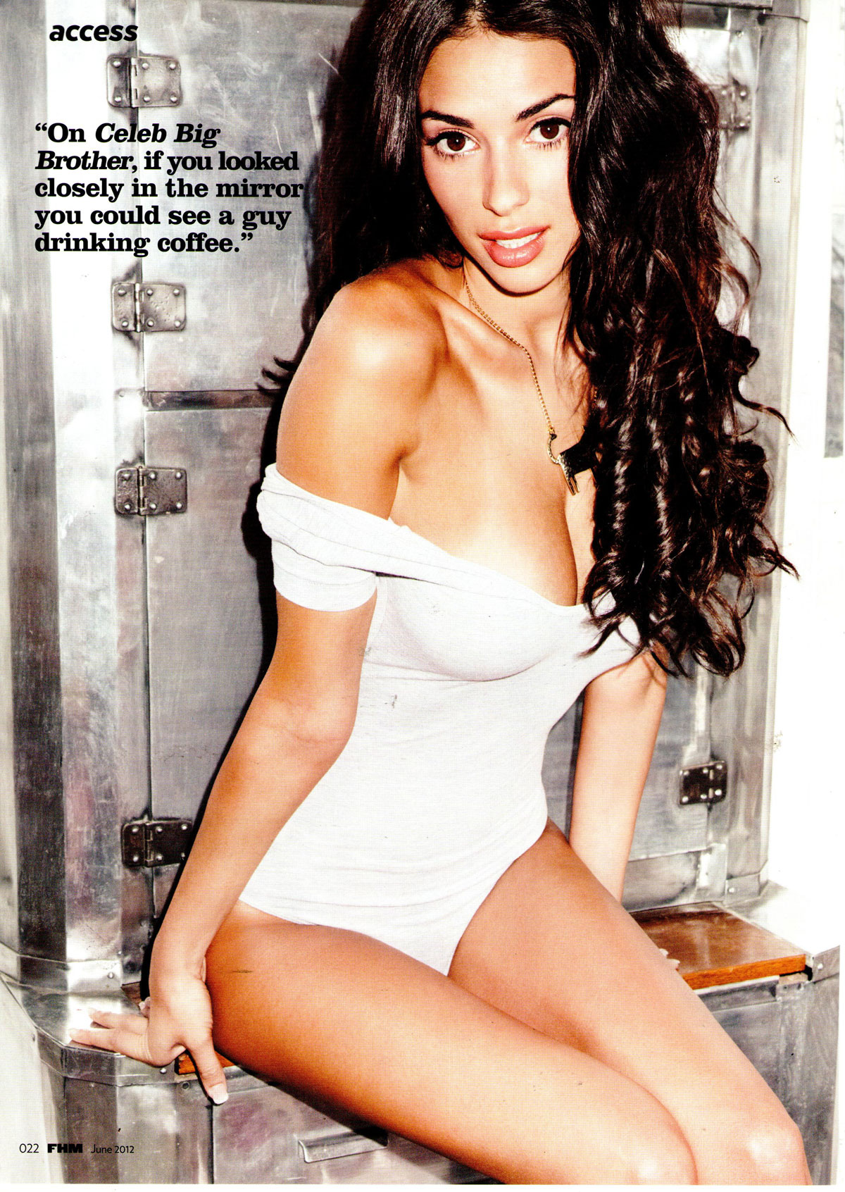 GEORGIA SALPA in FHM Magazine UK June 2012 Issue 1