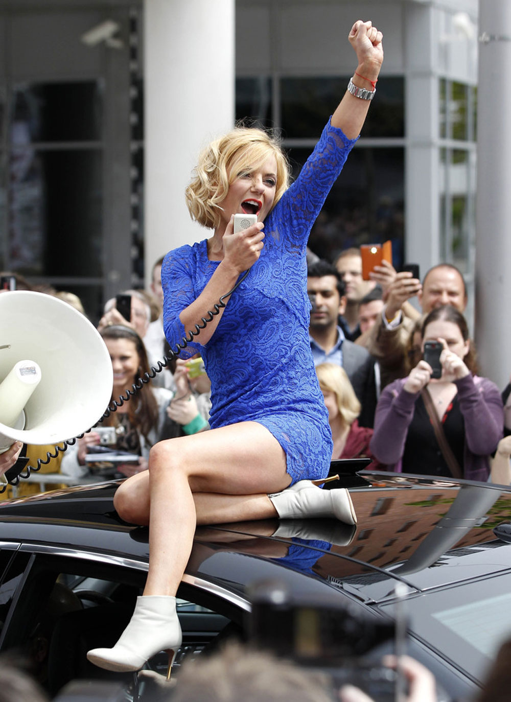 GERI Factor - at HALLIWELL in HawtCelebs Liverpool Auditions X