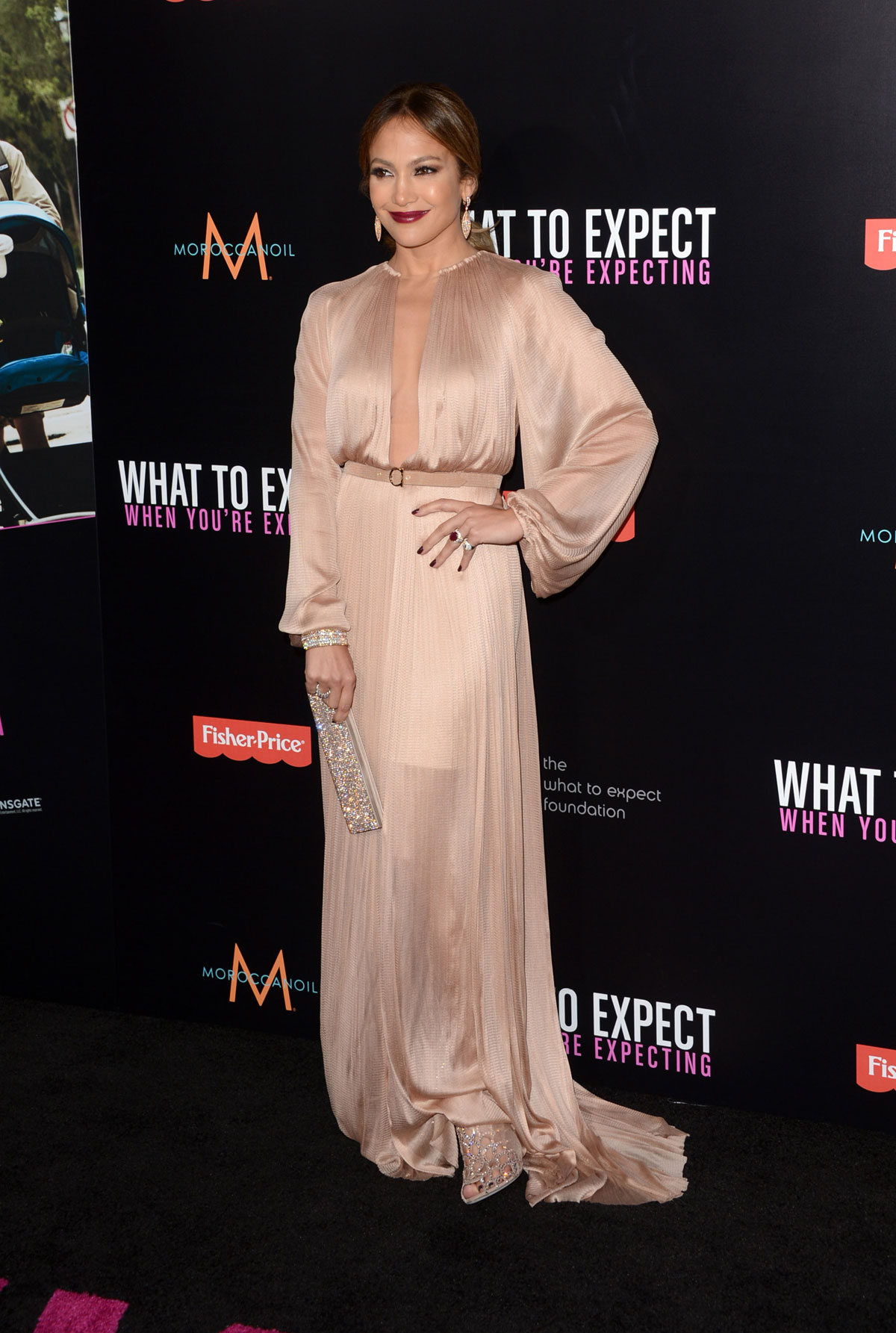 JENNIFER LOPEZ at What To Expect When You\'re Expecting Premiere ...