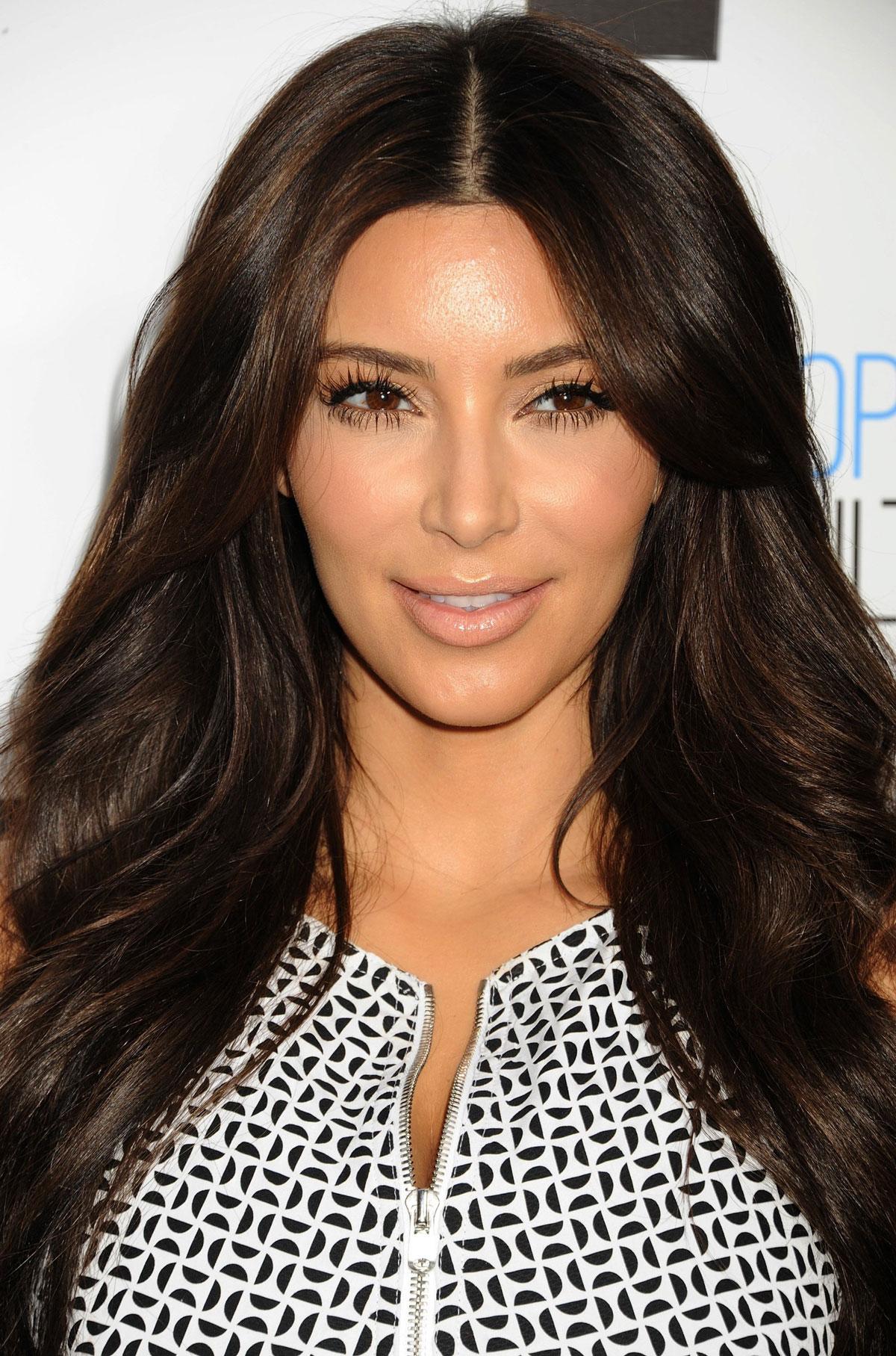 Kim Kardashian at the E! UpFront presentation at Gotham