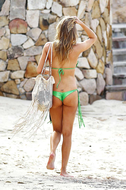 bikini green Leann rimes