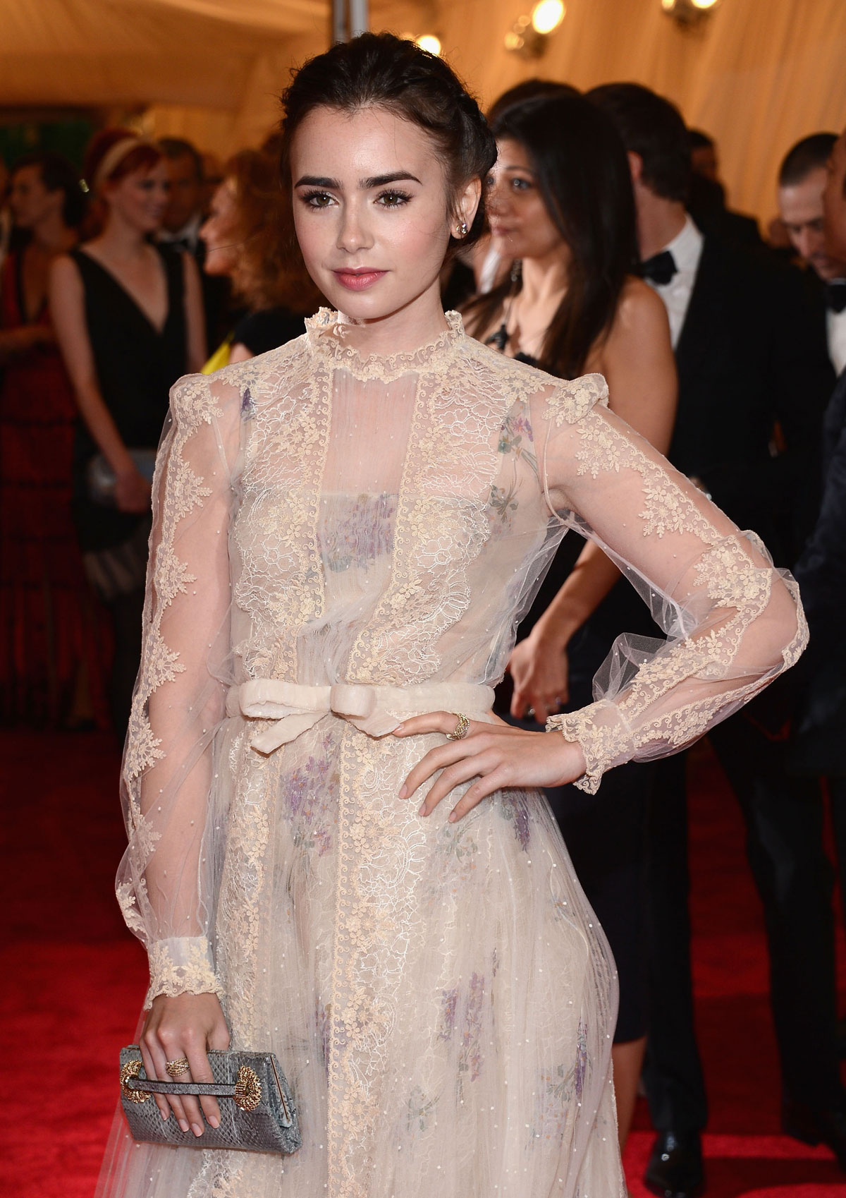 LILY COLLINS at Metrop...