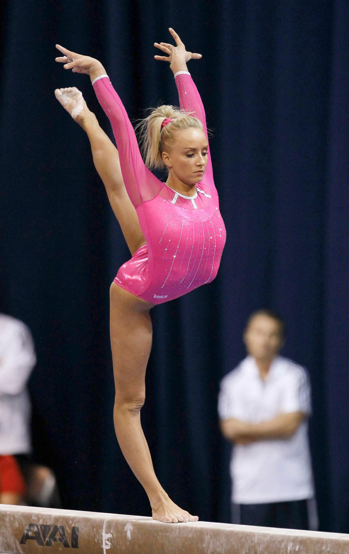 NASTIA LIUKIN at US Classic Gymnastics Meeting in Chicago