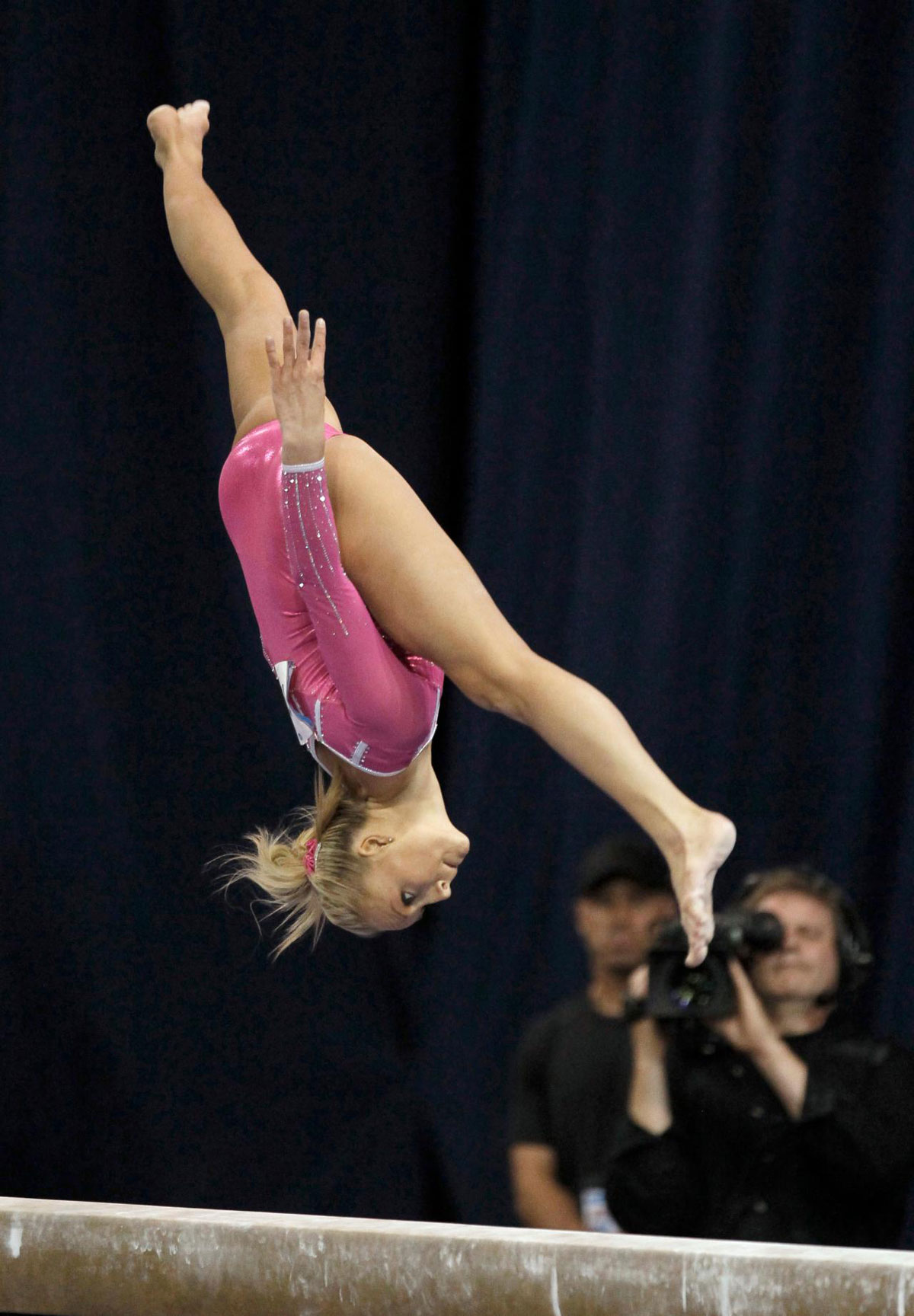 NASTIA LIUKIN at US Classic Gymnastics Meeting in Chicago ... Nastia Lueken