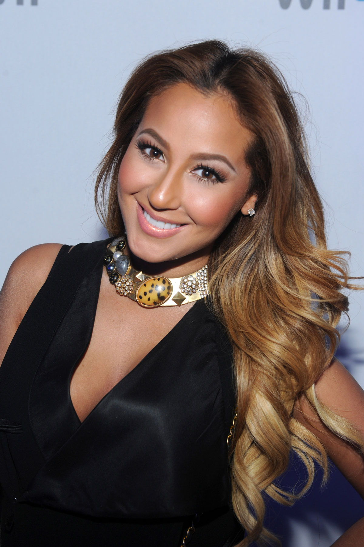 ADRIENNE BAILON at Nintendo Launch of Wii U Experience in New York