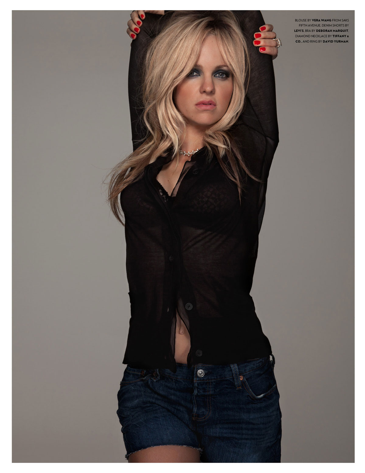 Heronimu actress anna faris flaunt magazine photo shoot for july 2012