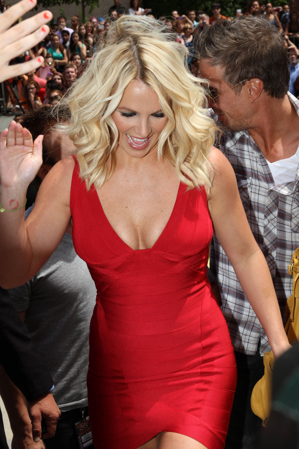 BRITNEY SPEARS at X Factor Auditions in Rhode Island